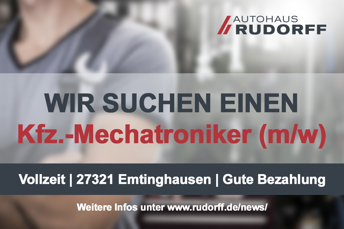 Jobangebot: Kfz-Mechatroniker (m/w/d) in Emtinghausen